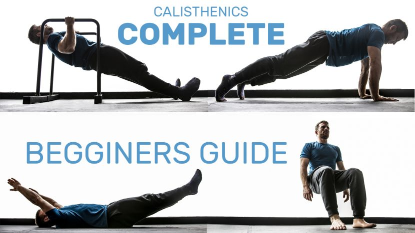 Beginner Calisthenics Workout-Guide (No-equipment necessary)